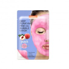 Purederm Purifying O2 Bubble Mask Peach