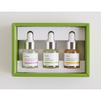 iUNIK Daily Serum Trial Kit set seruri travel size (3 buc x 15 ml)