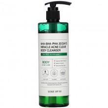 Some by Mi AHA BHA PHA Miracle Acne Body Cleanser 400 ml Gel de dus anti-acnee