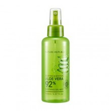 Nature Republic Soothing & Moisture Aloe Vera 92% Soothing Gel Mist 150ml Toner - spray calmant