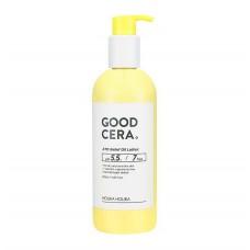 HOLIKA HOLIKA  Good Cera ATO Relief Oil Lotion 350ml Lotiune de corp hipo-alergenica piele uscata si sensibila