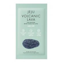 The Face Shop Jeju Volcanic Lava Nose Strips Benzi nas puncte negre Set 5 bucati